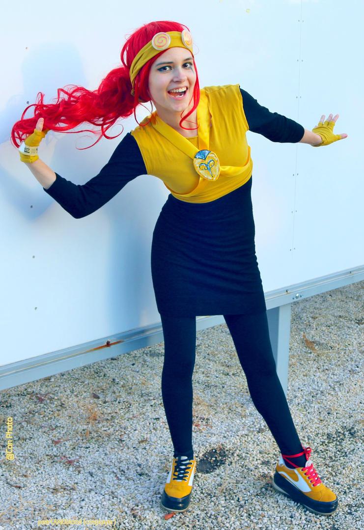 Fem! Jack Spicer cosplay III. by pearlANDblood