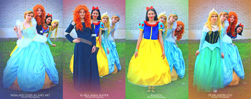 Disney Princesses | in sequence by pearlANDblood