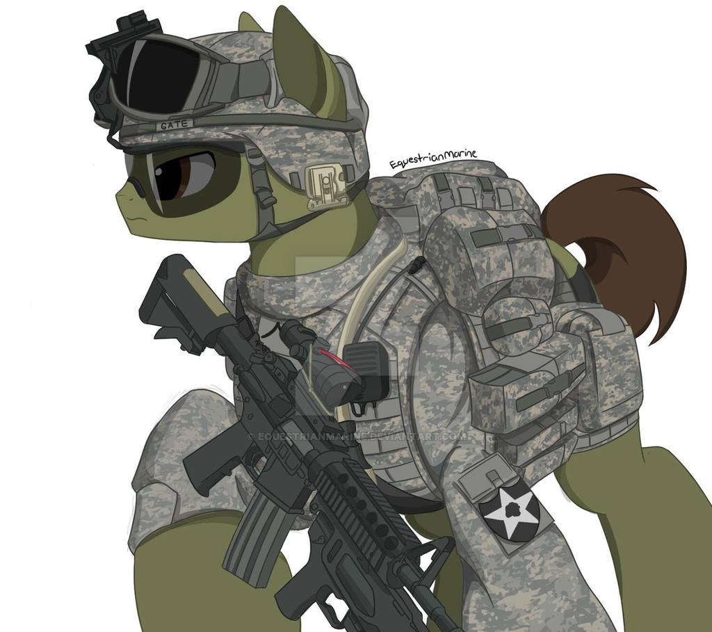 meet the soldier mlp oc