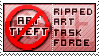 Ripped Art Task Force - Stamp