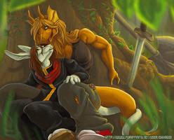 Smaugs Valentine by zhivagooo
