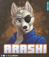 Arashi Badge by zhivagooo