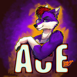 AceFox Badge by zhivagooo