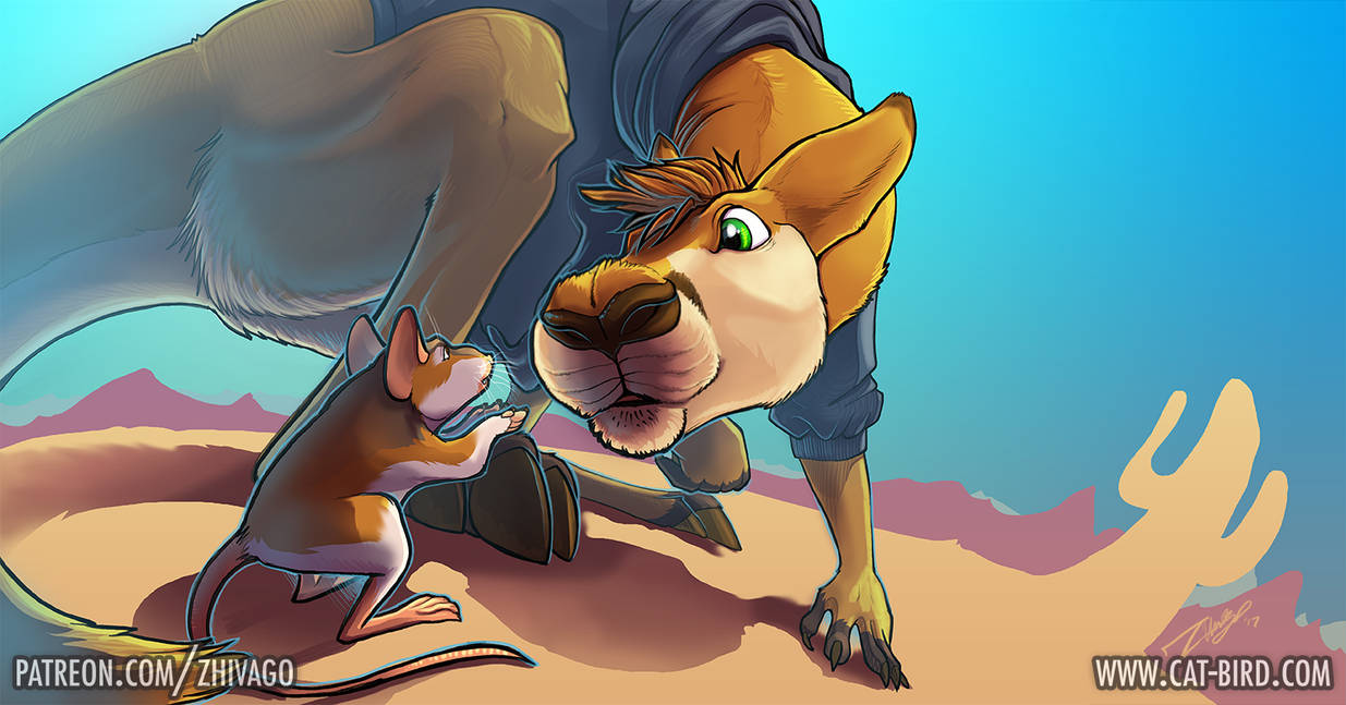 Renegade Roo by zhivagooo