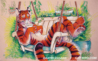 Matcha Tiger (Original at AC!)