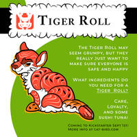 Sushi Tomodachi - Tiger Roll Reveal