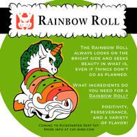 Sushi Tomodachi - Rainbow Roll