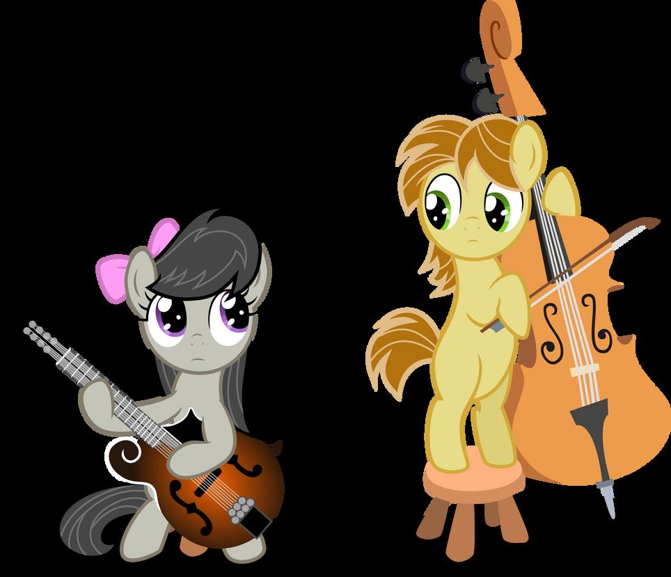 Music Lesson 1 Vector Octavia And Mandopony By