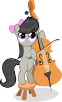 Music Lesson - Vector of Octavia
