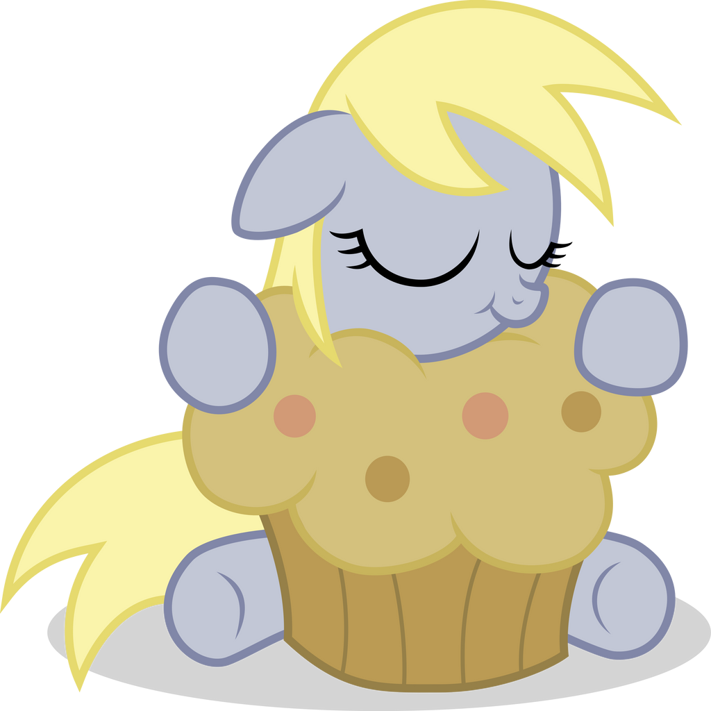 filly_derpy_with_a_muffin_vector_by_agam