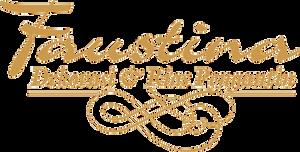 Logo Faustina Dekorasi dan Rias Pengantin by Mahadjatis