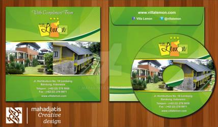 Mock Up Cover CD - Villa Lemon @ Lembang