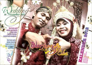 Cover Calender 2012 - Wedding