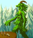 Spirit of a forest