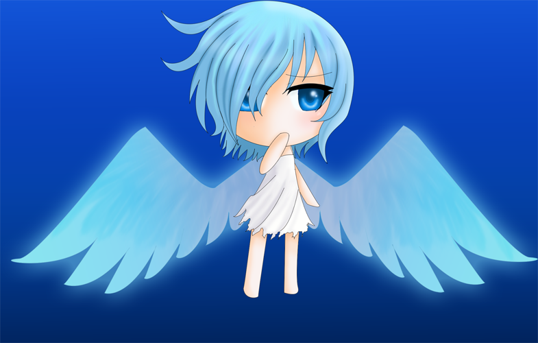 Blue Angel Chibi By Chaoticblossoms On Deviantart