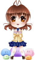 Nagisa Furukawa Chibi ---- Clannad