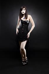 Blackdress by xXEliskaXx