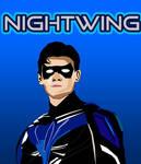 Nightwing DC TITANS SEASON FINAL VECTOR art