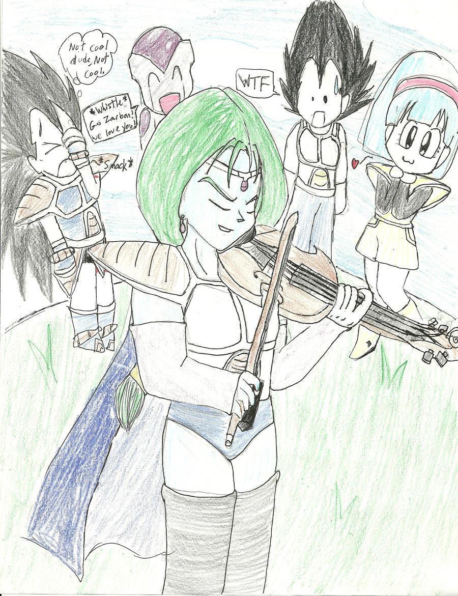 Zarbon's Violin by Chi...