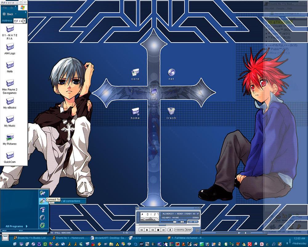 Desktop:DNAngel-Hikari to Yami by enomi