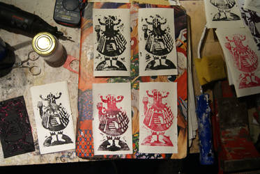 Floor rubber Linography by sigmar95