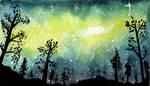 Magical night - video process