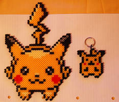 Hama Beads Pikachu