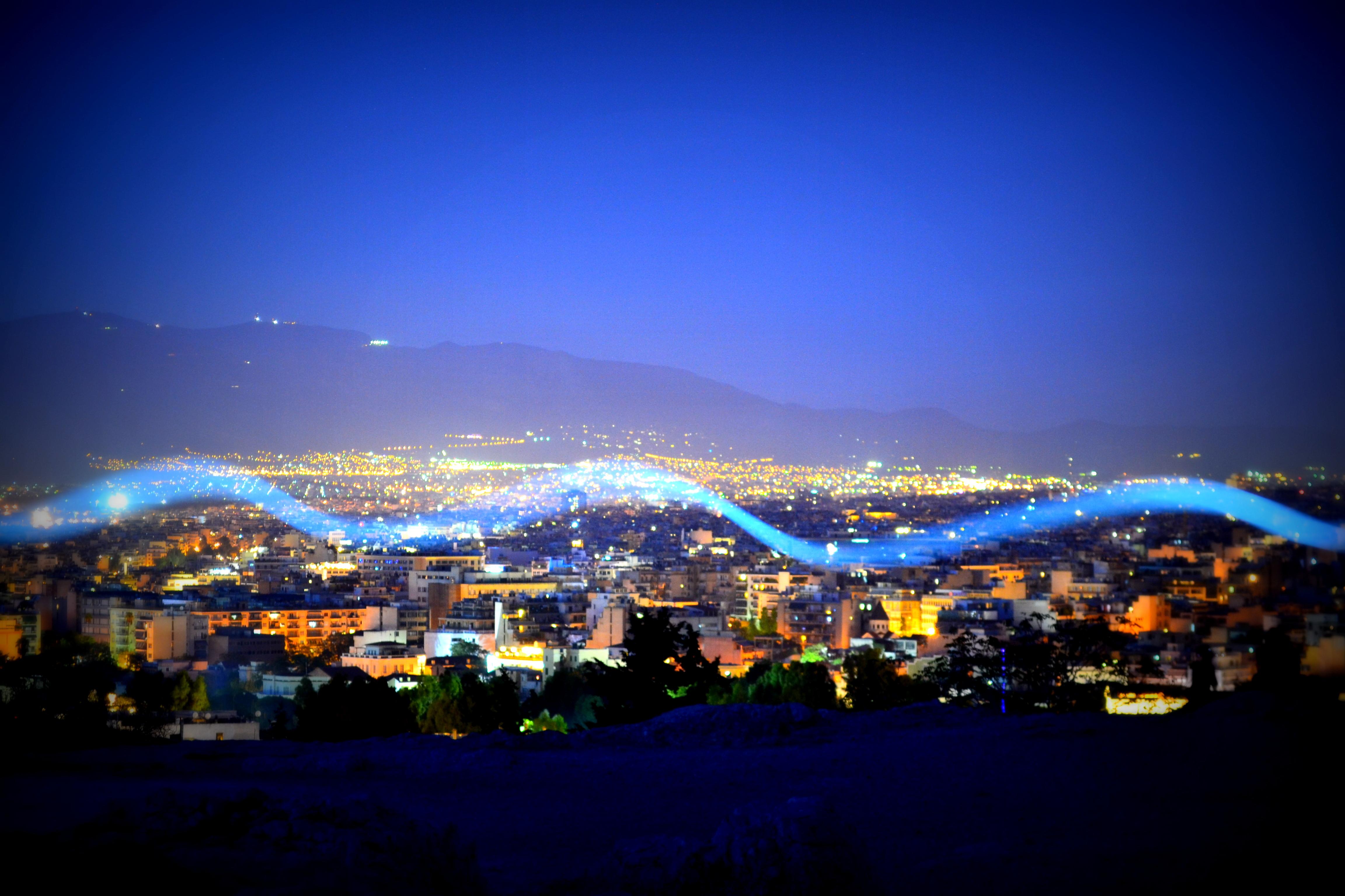 city lights by Neu-Trino