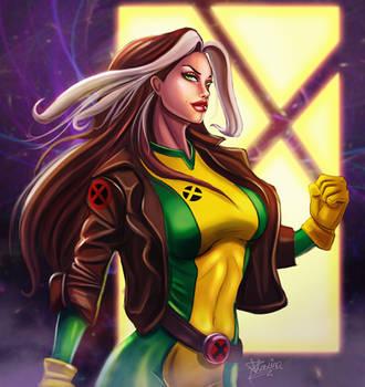 Rogue X-men by 0oDhaxina