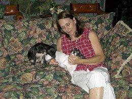 my mom winston and rambo by djdragondude