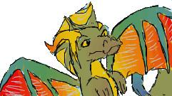 Rainbow dragon 3 by djdragondude