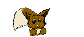 Playful eevee by djdragondude