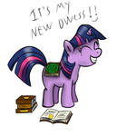 Filly Twilight's new dwess