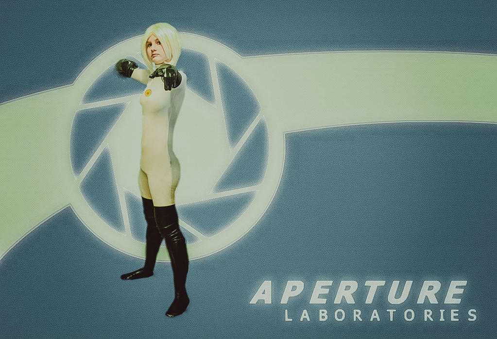 portal turret cosplay by Lavi-Deak