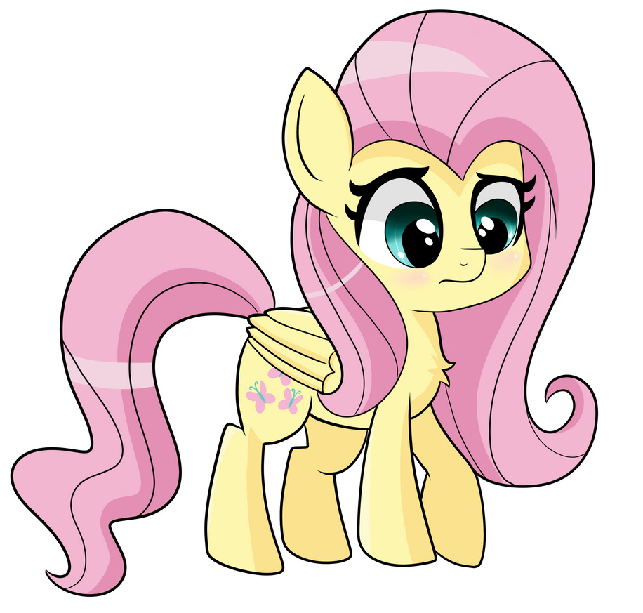 Chibi Fluttershy by Emera33 on DeviantArt