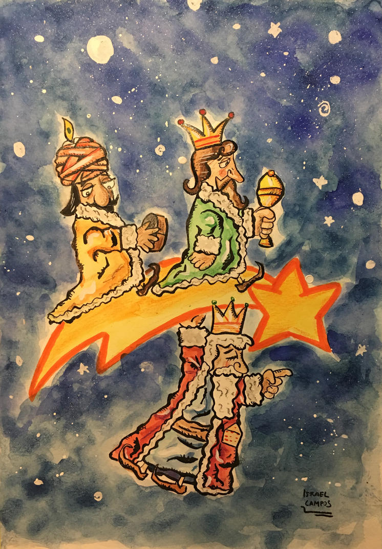 The Three Wise Men by IsraelCampos