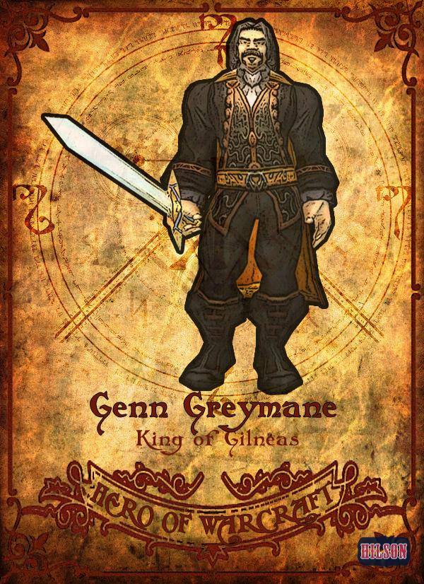 Genn Greymane by Hilson-O on DeviantArt - 583.9KB