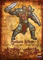 Anduin Lothar by Hilson-O