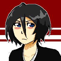 Pixel: Tsundere Rukia by Allicei