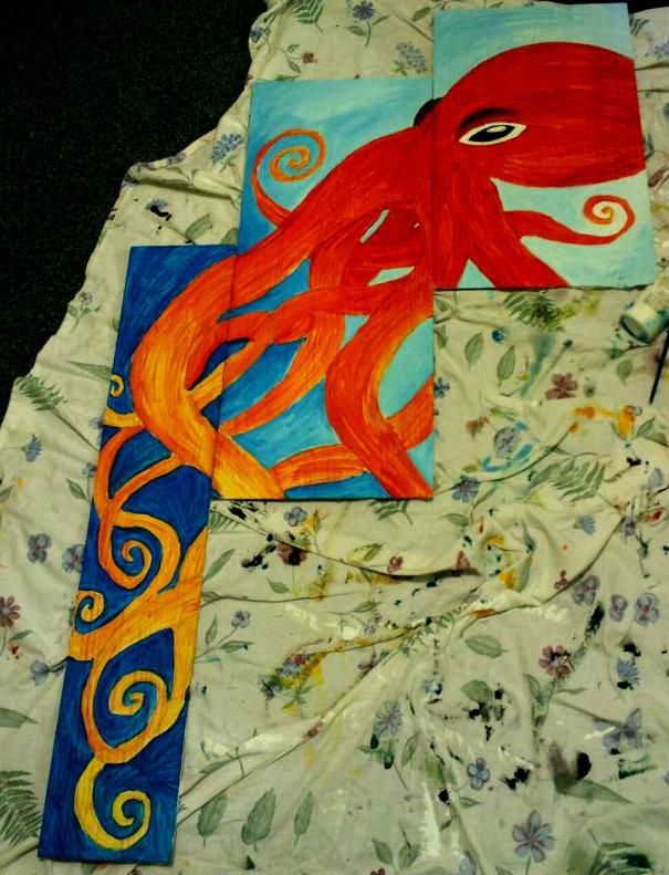 Octopus by JessieeX3
