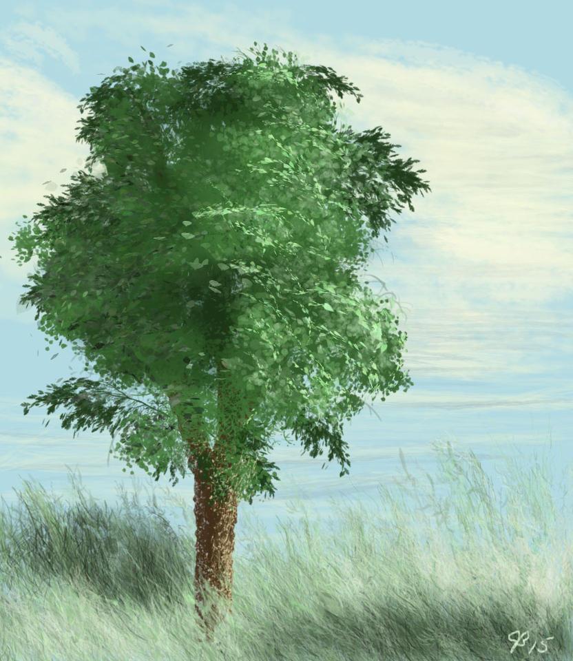 Tree by JessieeX3