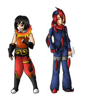 Tamio and Lapidate by Errya