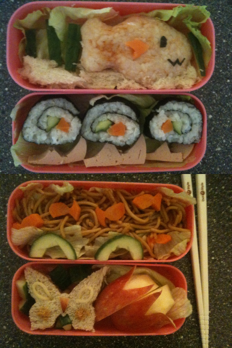 Bento Boxes by Errya
