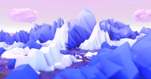 Fluffy Low Poly Environment