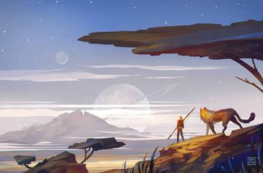 The Desert by StephanieStutz