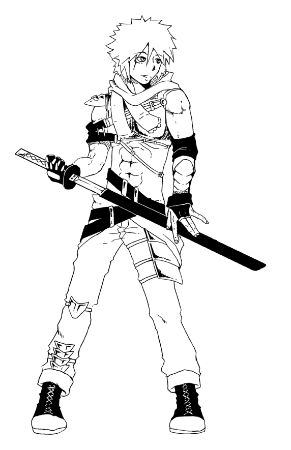 Ninja Boy by abn5x on DeviantArt