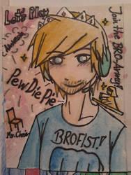 PewdiePie FanPic by Aitsuka888