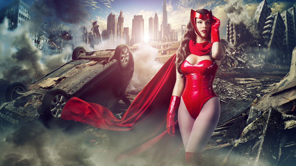 Scarlet Witch by roadragebunny