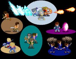 Little Fighter 2 Characters by dziadek1990