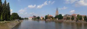 Wroclaw Panorama 2 by dziadek1990